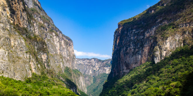 Sumidero Canyon Nationalpark in Mexiko