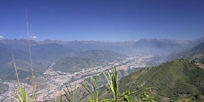 Ausblick über Mérida